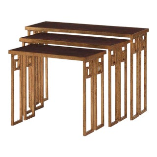 Century Furniture Nesting Tables