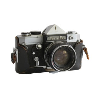 Petri Flex Camera W/ Leather Case