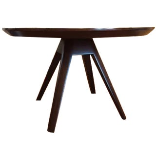 Louis Kazan Contemporary Exotic Wood Dining Table