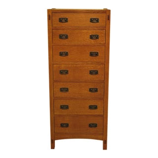 Stickley Arts & Crafts Oak Lingerie Chest