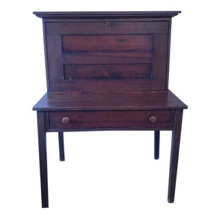 Antique Drop-Down Secretary Desk