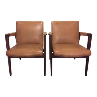 Mid Century Accent Chairs - a Pair