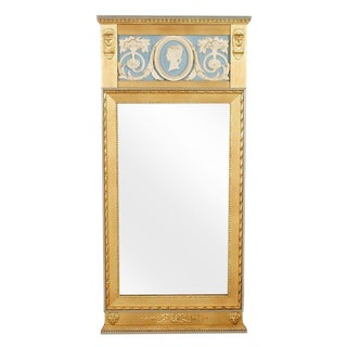 1900s Gustavian Style Giltwood Mirror