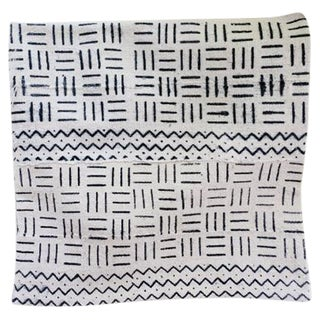 "African Mudcloth Pillow Cover 18"" X 18"""