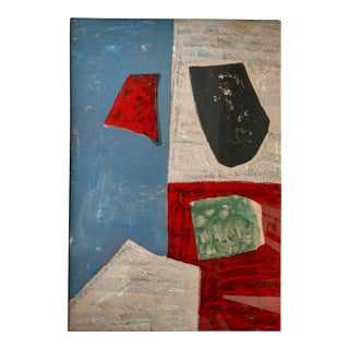 """1958 """"Untitled"""" Lithograph by Serge Poliakoff"""