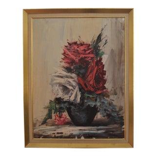 Still Life Roses Painting