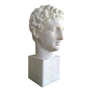 Lifesize Plaster Bust of Hermes