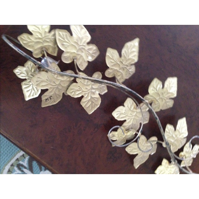 Image of Mid-Century Style Ivy Leaf Wall Art