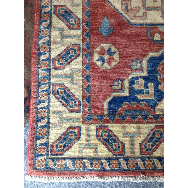 Hand Knotted Wool Rug - 3' x 5' - Image 7 of 7