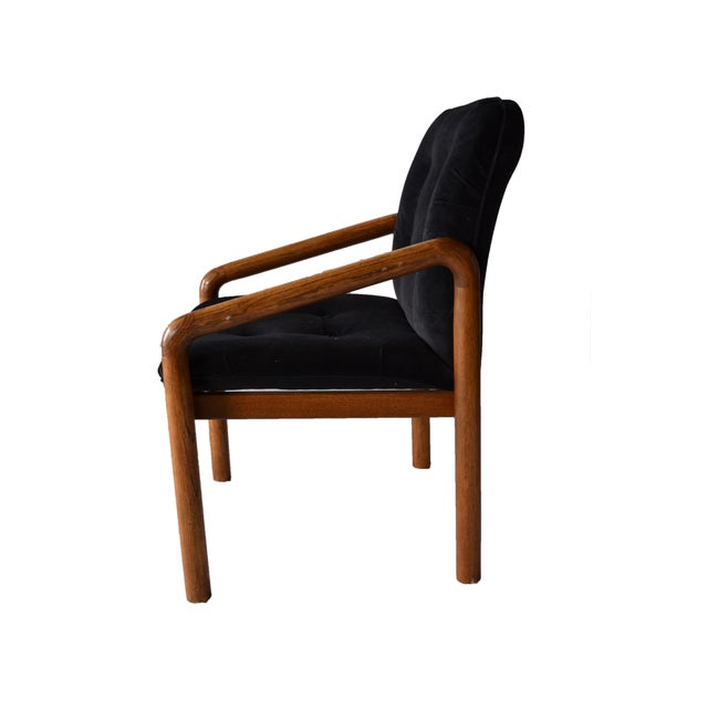 1970s Oak Dining Chairs - Set of 4 - Image 2 of 5