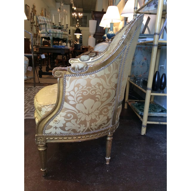 19th Century Antique Giltwood Chairs - Pair - Image 3 of 5