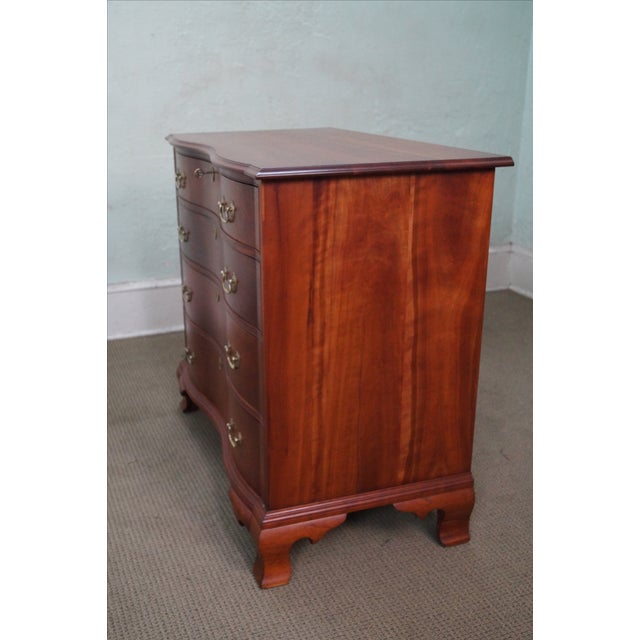 Nathan Margolis Chippendale Serpentine Chest - Image 3 of 10