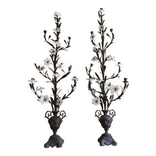 Antique Candelabras - A Pair