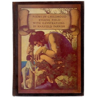 """Poems of Childhood"" Book Illustrated by Maxfield Parrish Circa 1904"