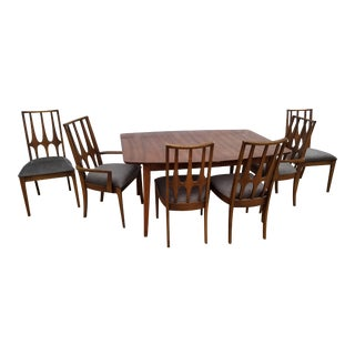 Broyhill Brasilia Dining Chairs and Table - Set of 7