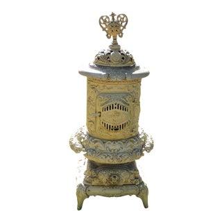 Antique Victorian Ornate Cast Iron Stove