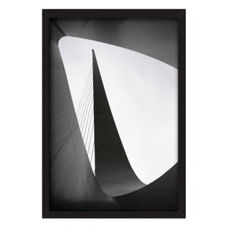 """Sundial Bridge, Redding, California"" Framed Photo"