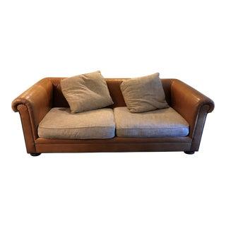 Henredon Leather Company Leather Sofa