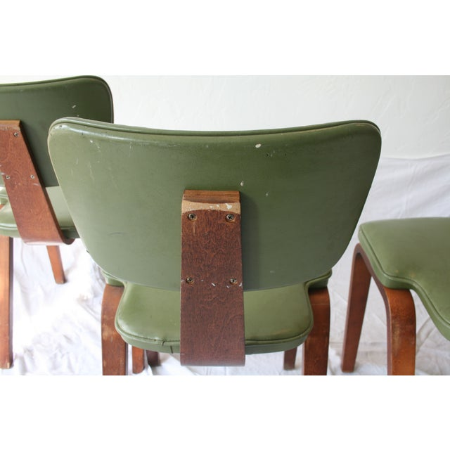 Vintage Thonet Bentwood Chairs - Set of 4 - Image 7 of 7