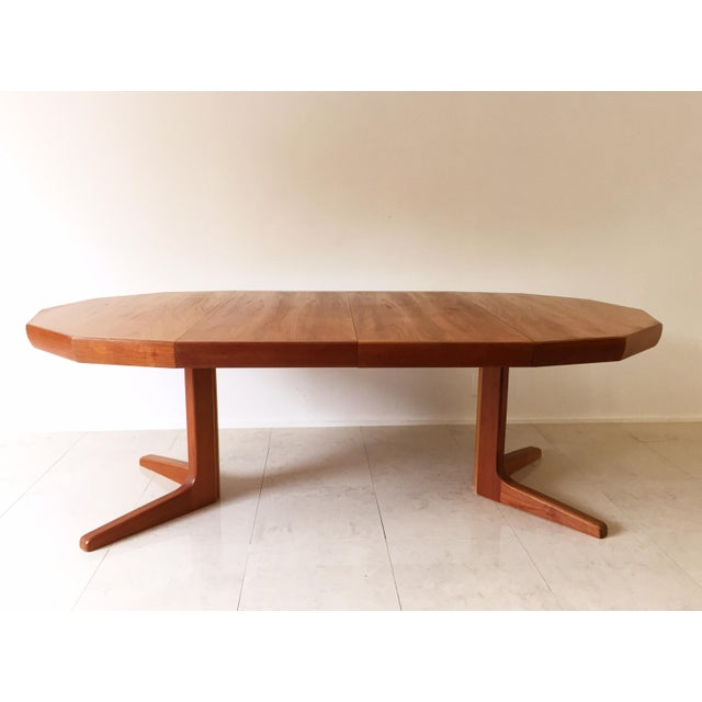 Vintage Danish Teak Extending Dining Table - Image 2 of 8