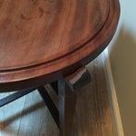 Image of Vintage Dansk-Style Teak Folding Tray Table