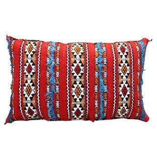 Tattoo-Design & Stripes Moroccan Pillow