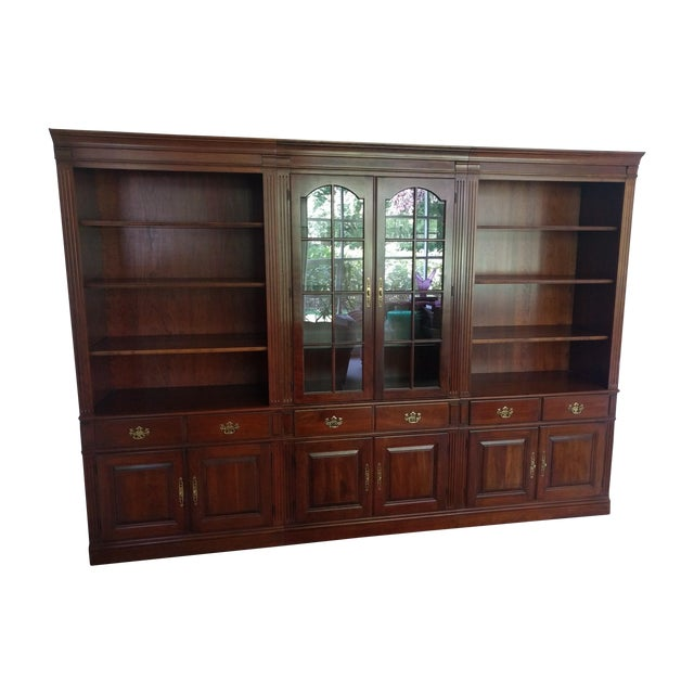 Pennsylvania House Bookcase Wall Unit - 3 Pieces - Image 1 of 10