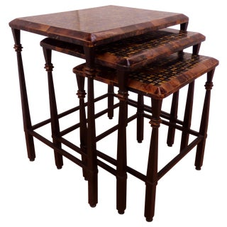 Hooker Furniture, Nesting Table with Faux Marble