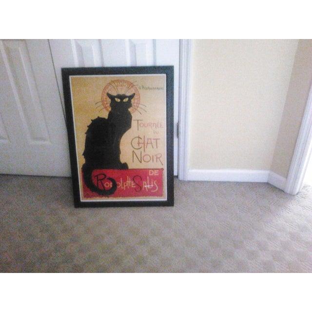 """""""Tournee Du Chat Noir"""", Framed Poster - Image 3 of 6"""
