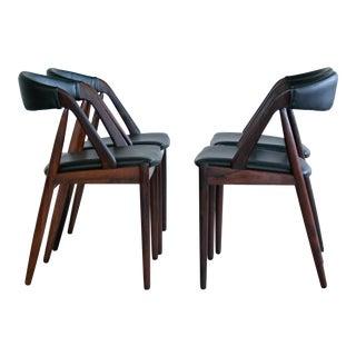 Kai Kristiansen Rosewood Dining Chairs - Set of 4