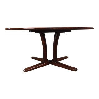 Dyrlund Rosewood Dining Table with 2 Leaves