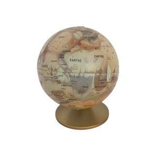 1970s Globe of Mars