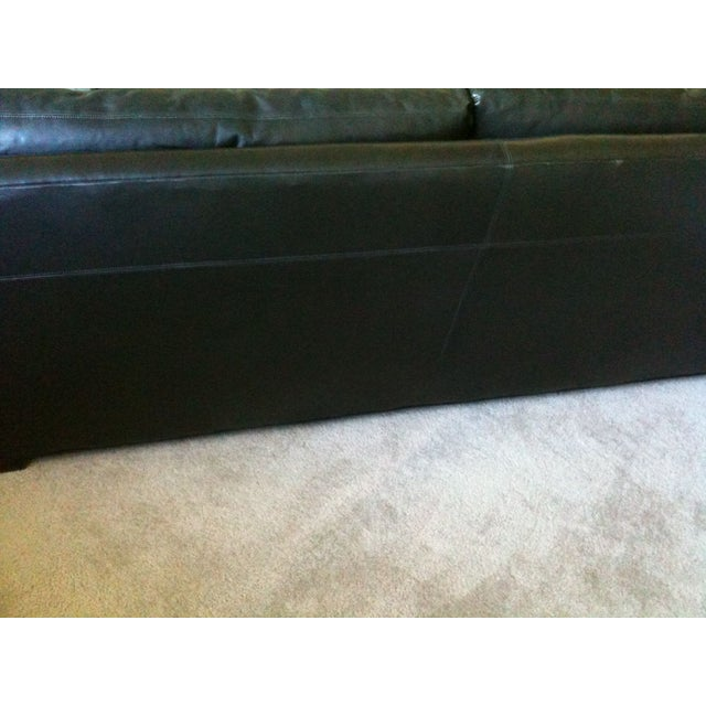 Image of Charcoal Flatiron Sofa by Coach