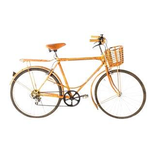 Vintage Bamboo Rattan Bicycle