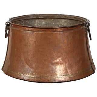 1900 Middle Eastern Copper Pot