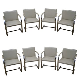 Brno Dining Chairs by Mies Van Der Rohe - Set of 8