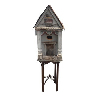 Antique Cathedral Bird House