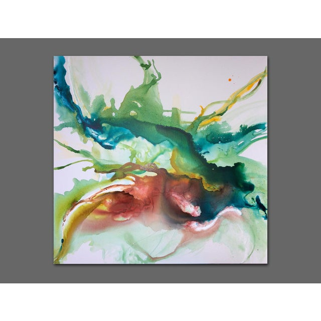 Hustle & Flow Original Abstract Painting - Image 3 of 6