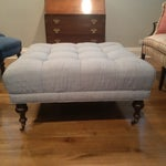 Image of Square Tufted Ottoman
