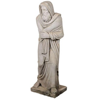 19th Century Carrara Marble Statue from Italy