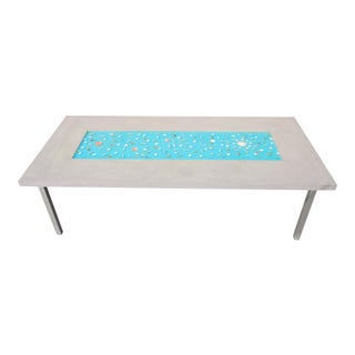 Organic Seashells Modern Dining Table