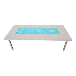 Organic Seashells Modern Dining Table