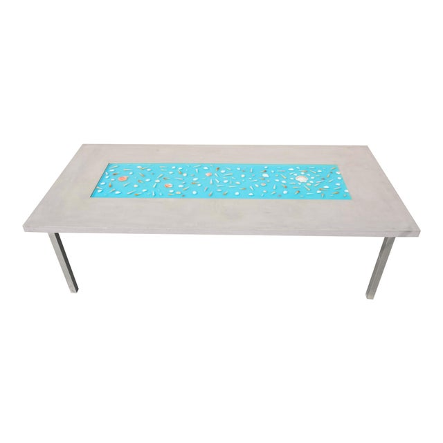 Image of Organic Seashells Modern Dining Table