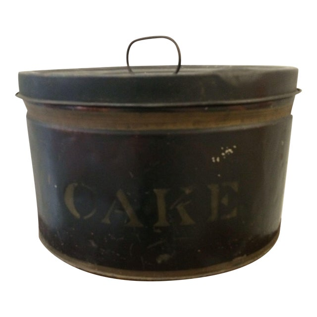 Vintage Cake Tin - Image 1 of 6