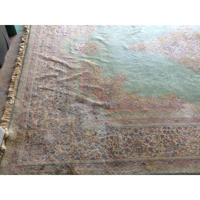 Traditional Iranian Handmade Wool Rug - 14′ × 10′ - Image 6 of 11