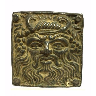 Ancient Greek Zeus Silver Buckle