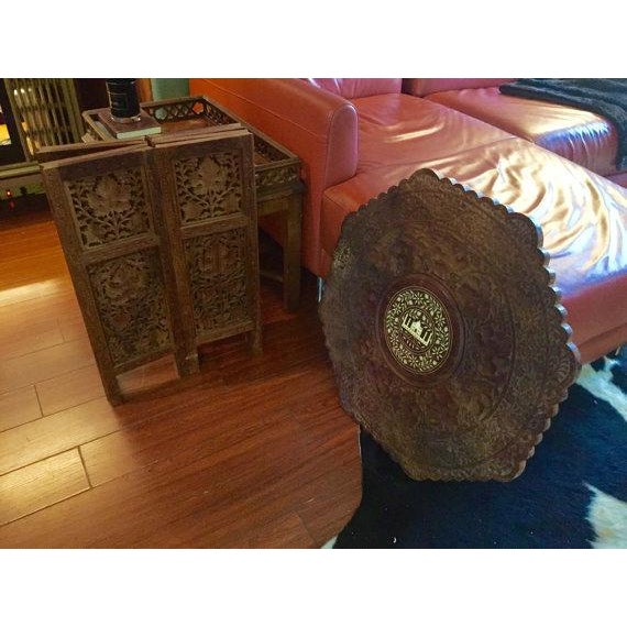 Image of Indian Taj Mahal Inlaid Table