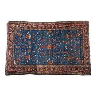 "1920s Persian Handknotted Wool Oriental Rug, 40"" x 60"""