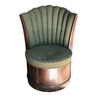Mid-Century Modern Romweber Barrel Chair
