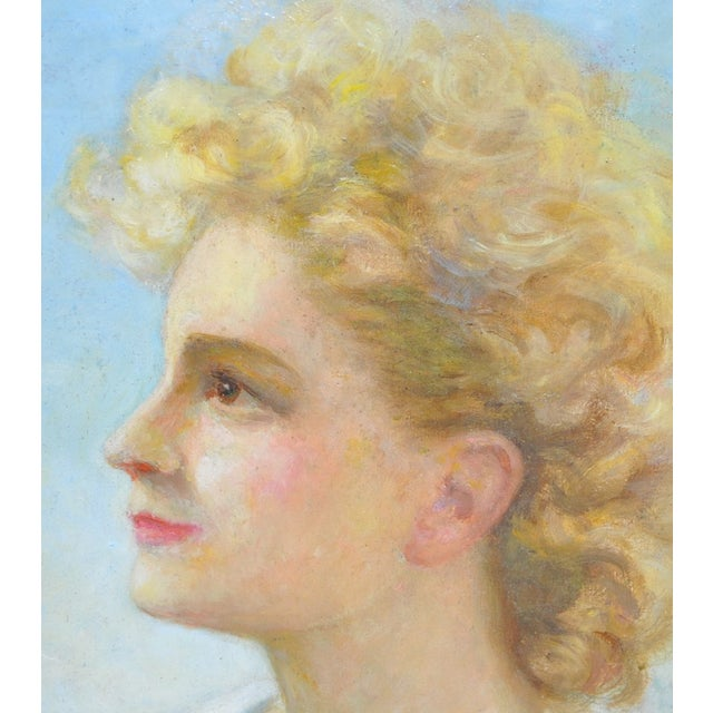 Image of Early 20th Century Study of Adolescent C. 1910